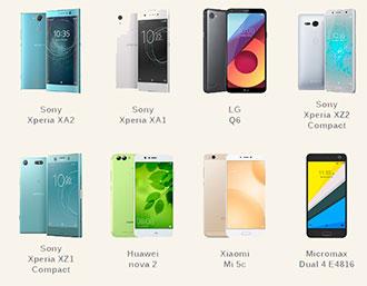 Небольшие смартфоны с экраном более 5 дюймов – 2018