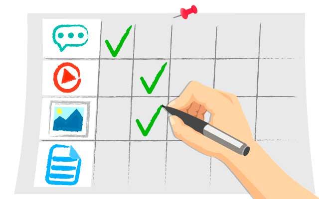 Зачем составлять контент-план  для ресурса?