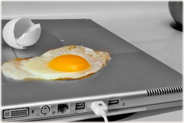 Сильный нагрев ноутбука: причины, способы устранения проблемы