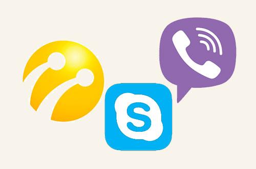 Цифровое общение или «бесплатный» доступ к Viber, Skype